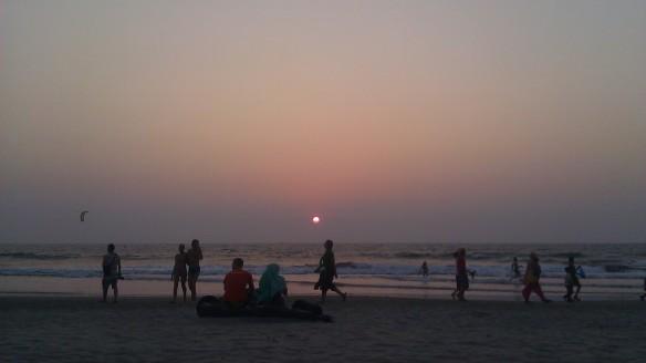 My last Goan sunset... Arambol Beach