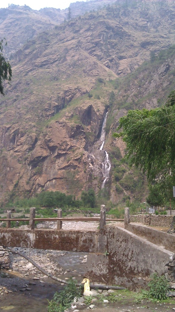 Waterfalls everywhere...